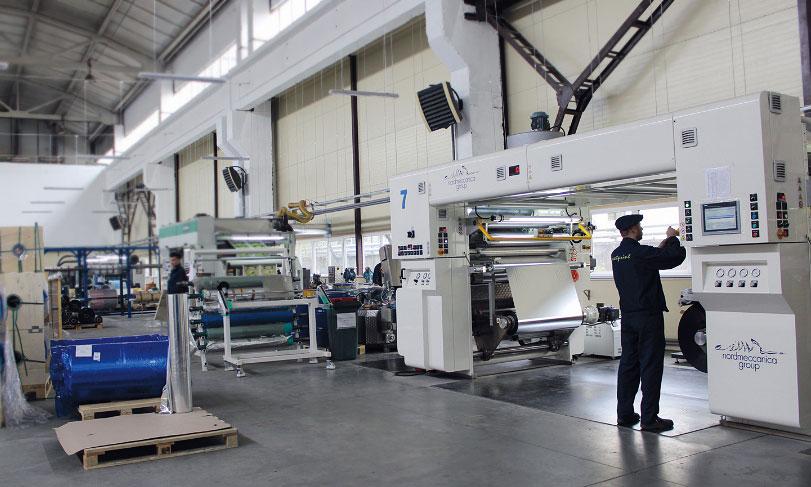Производство гибкой упаковки для кондитерских изделий